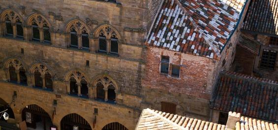 Masterpieces of medieval architecture in Cordes Sur Ciel